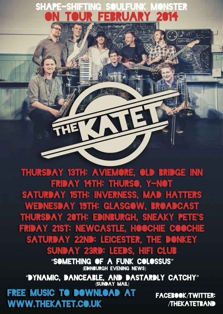 www.thekatet.co.uk for more details...